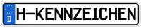 H-Kennzeichen: Das Nummernschild für Oldtimer