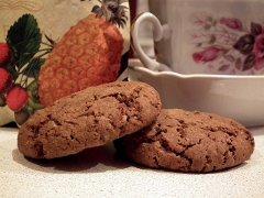 Hafer-Schoki-Cookies